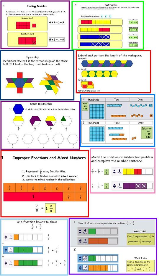 Kidspiration Math Examples